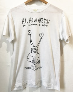 Vintage Daniel Johnston T-Shirt in white