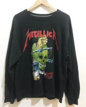 Vintage Metallica sweatshirt in Black