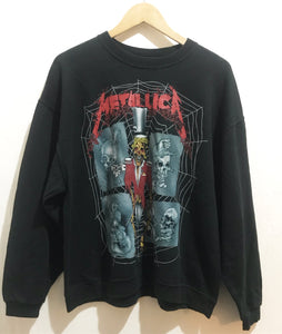 Vintage Metallica sweatshirt in Black (©1992)