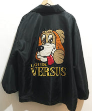 Pre Owned VERSUS bomber jacket in black