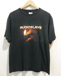 Vintage Audio Slave T-Shirt in Black