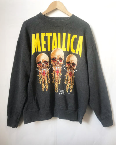 Vintage Metallica sweatshirt in Grey (©1991)