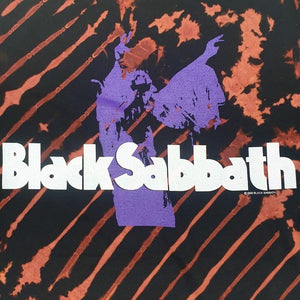 Vintage Back Sabbath Tie Dye T-Shirt