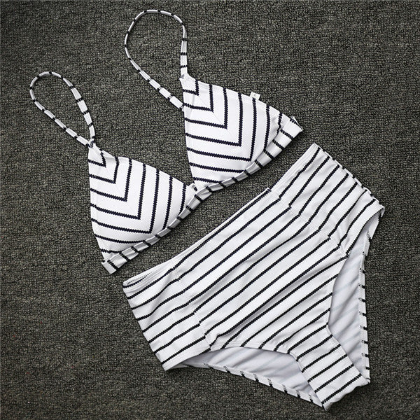 Bella's Striped Two Piece