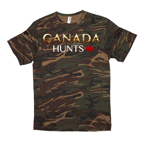 Canada Hunts Camo T-Shirts