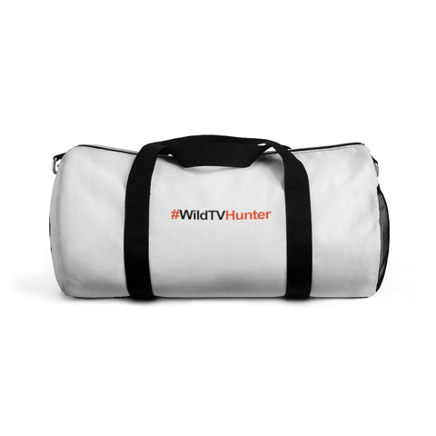 #WildTVHunter -White- Duffle Bag