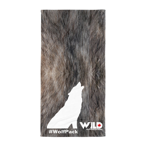 Wolf Fur Towel