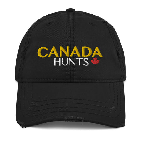 Canada Hunts Distressed Ballcap