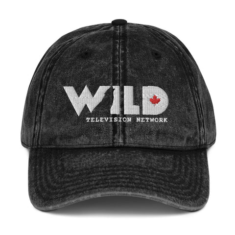 WILD TV Vintage Cotton Twill Cap