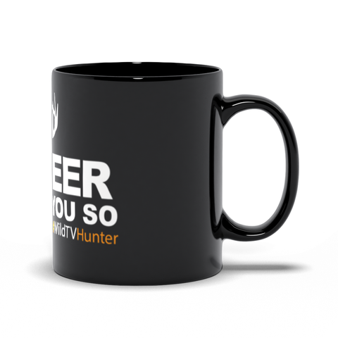 OH DEER! Black Mug