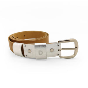 SILVERED SQUIRREL BELT