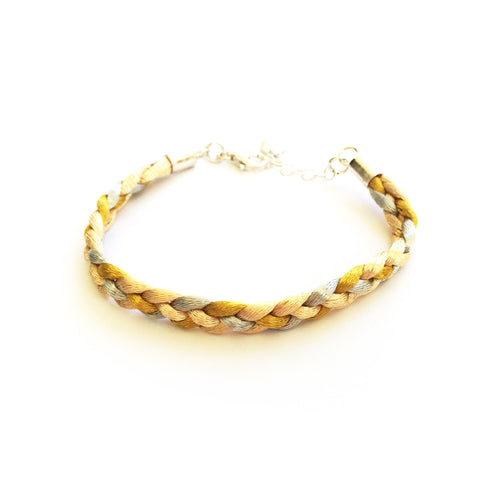 BRAIDED HONEY BRACELET