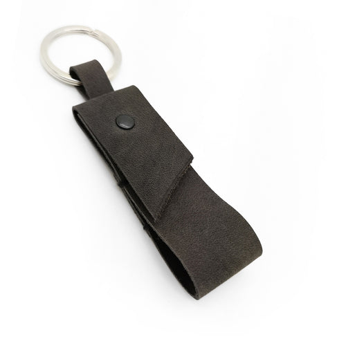 NATURAL CONCRETE KEYRING