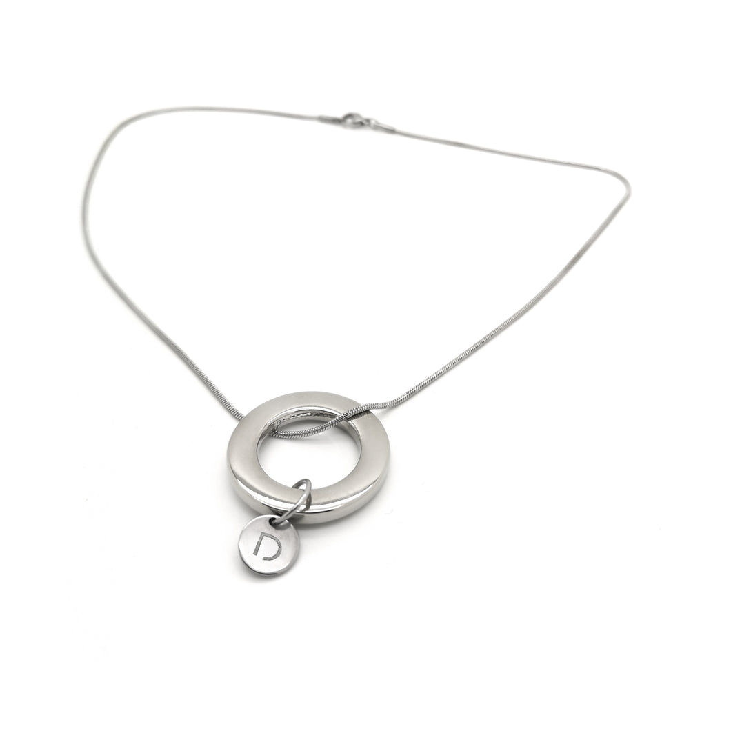 CIRCLE SNAKE NECKLACE