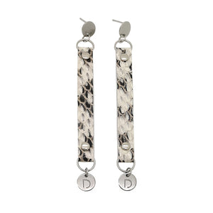 STEEL PYTON EARRINGS