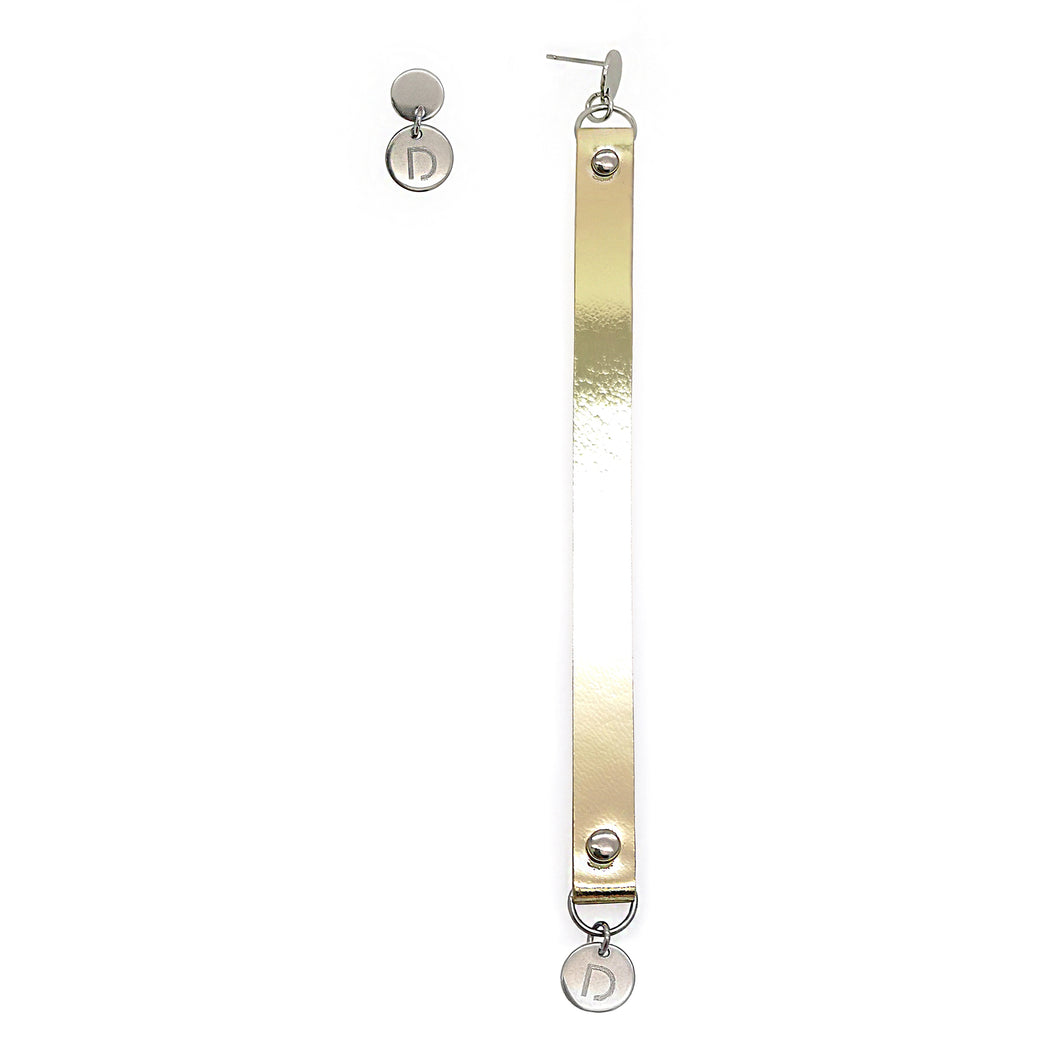 STEEL LONG EARRINGS