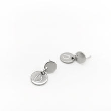 Load image into Gallery viewer, STEEL BRAND EARRINGS