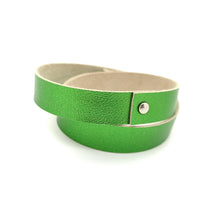 Load image into Gallery viewer, GREEN INFINITY BRACELET