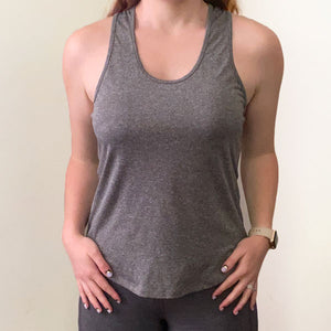 The Chloe Tank | Charcoal