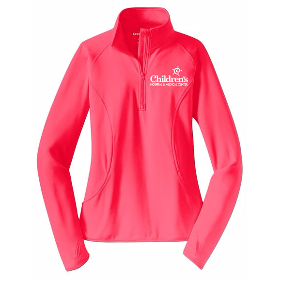 Ladies Sport-Wick Stretch ½ Zip Pullover