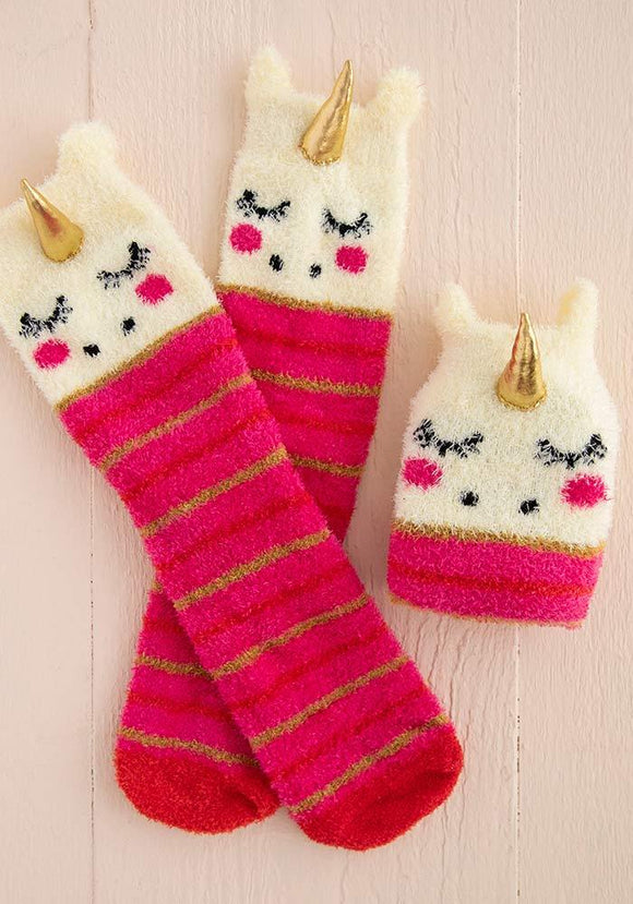 Unicorn Cozy Sock