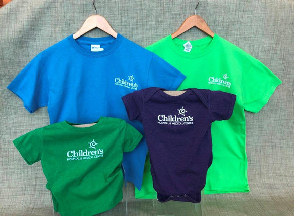 Children's Hospital & Medical Center Logo T-shirts