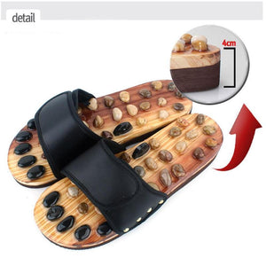 Natural Stones Massage Slippers