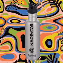 Load image into Gallery viewer, Boomtown Stainless Steel Water Bottle