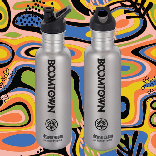 Boomtown Stainless Steel Water Bottle