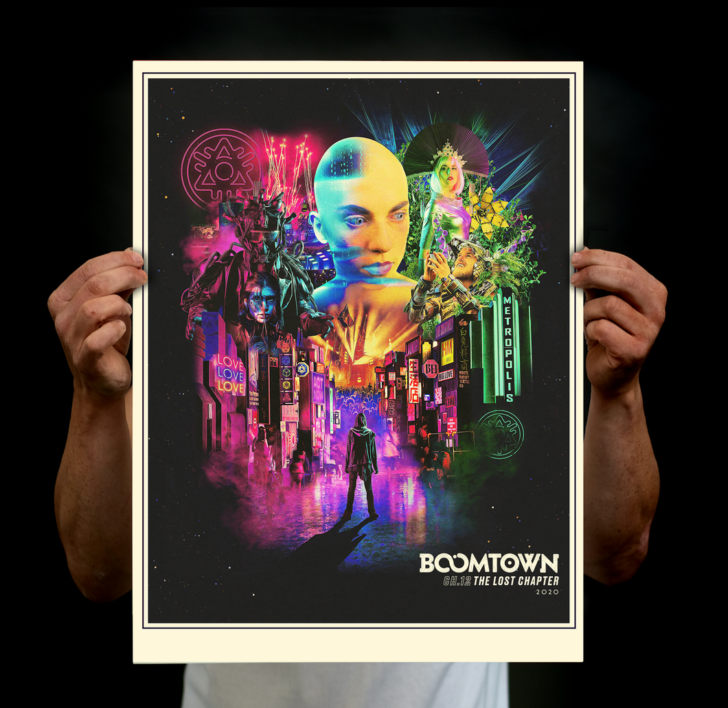 Chapter 12 Art Print Poster - 'The Lost Chapter'