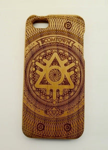 Sustainable Wooden Engraved iPhone Case