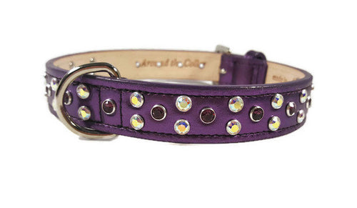 Callie Cluster of Swarovski Crystals Dog Collar - Around The Collar NY