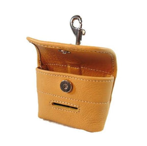 Classic Leather Poop Bag Holder - Around The Collar NY