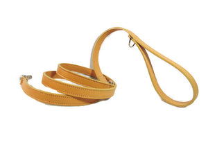 Classic Leather Dog Leash - Around The Collar NY