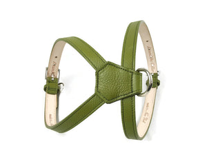 Classic Leather K Harness - Around The Collar NY