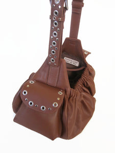 Jaxon Leather Sling Carrier - Around The Collar NY