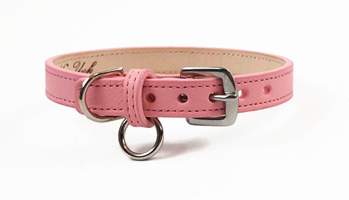 Classic Leather Dog Collar - Around The Collar NY