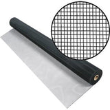 Aluminum Screen Mesh-Screen Mesh-ShadeScreenSolutions-Black-24 Inches Wide X 15 Feet Long-