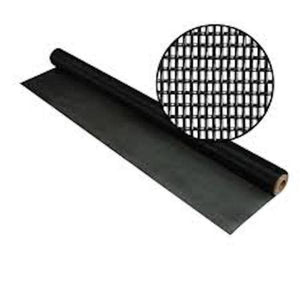 PetScreen Mesh-Screen Mesh-ShadeScreenSolutions-36 Inches Wide X 100 Feet Long-Black-