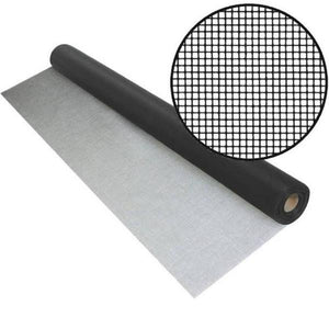 PhiferGlass Screen Mesh-Screen Mesh-ShadeScreenSolutions-24 Inches Wide X 15 Feet Long-Charcoal-