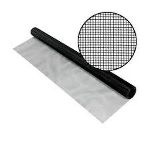 SeeVue Stainless Steel Mesh-Screen Mesh-ShadeScreenSolutions-36 Inches Wide X 100 Feet Long-Black-