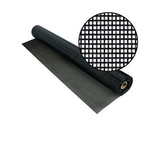 TuffScreen Mesh-Screen Mesh-ShadeScreenSolutions-36 Inches Wide X 100 Feet Long-Charcoal-
