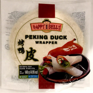 Happy Belly Peking Duck Wrapper 10x14G