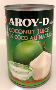 Aroy-D Coconut Juice For Cooking 400ML