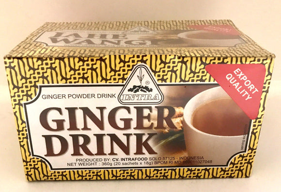 Intra Ginger Drink 20x18G