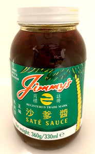Jimmy Satay Sauce 330ML