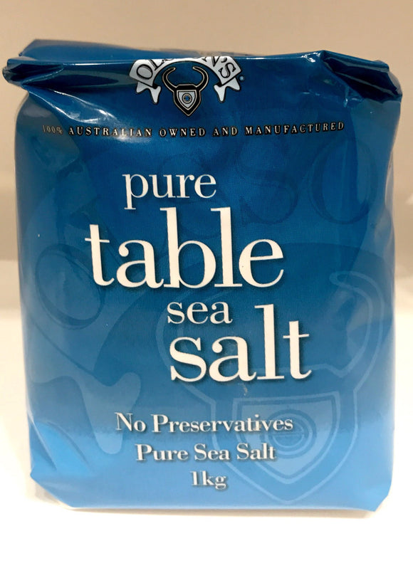 Olssons Pure Table Sea Salt 1KG