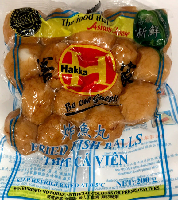 Hakka Fried Fish Ball 200G