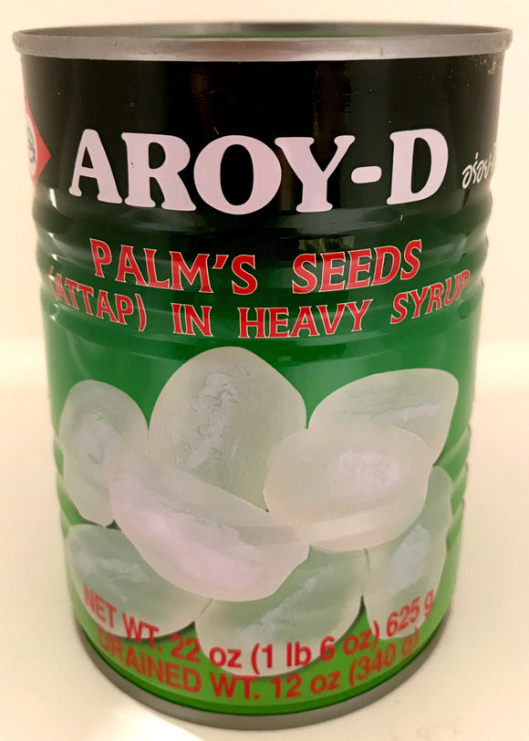 Aroy-D Palm's Seeds (Attap) In Heavy Syrup 625G
