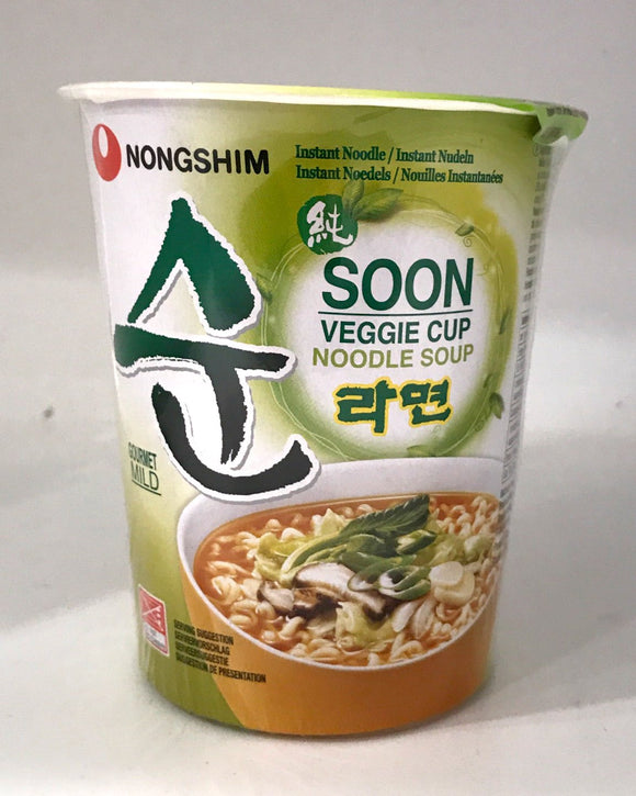 Nong Shim Vegtarian Noodle Cup 67G